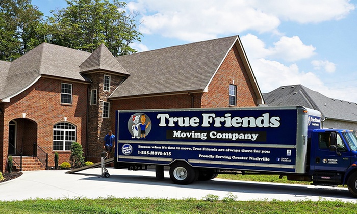 True Friends Moving Company LLC - Nashville: Two Hours of Moving Services from True Friends Moving Company LLC (Up to 52% Off). Two Options Available.