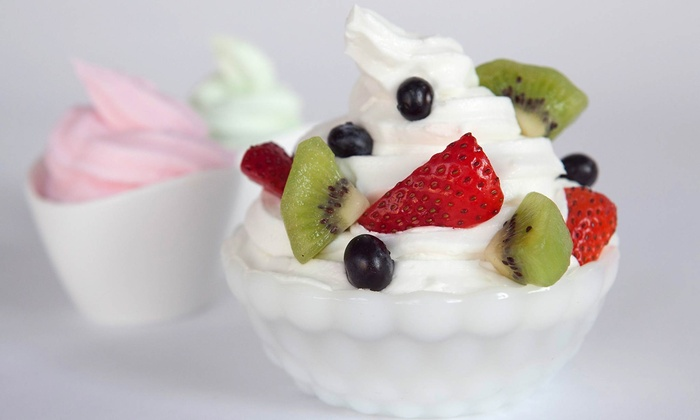 Bella's Frozen Yogurt Cafe - Downtown St. Louis: One or Two Groupons, Each Good for $10 Worth of Frozen Yogurt at Bella's Frozen Yogurt Cafe