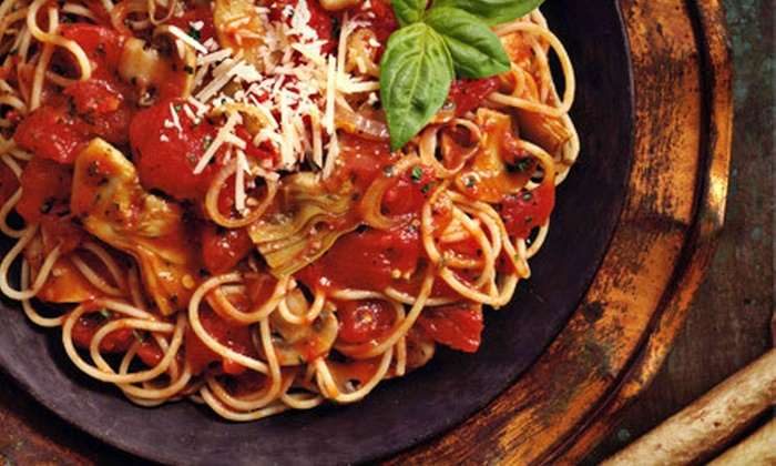 Ti Amo Cafe Italiano - Hoffman Estates: Italian Dinner Cuisine for Two or Four at Ti Amo Cafe Italiano in Hoffman Estates (Up to 53% Off)
