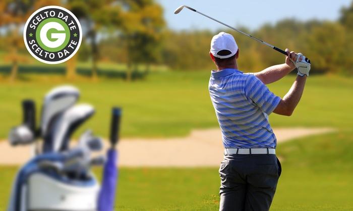 ITALIAN GOLF ACADEMY - Golf Club Vigevano: 3 o 5 lezioni di golf per una o 2 persone con maestri professionisti da 29,90 €