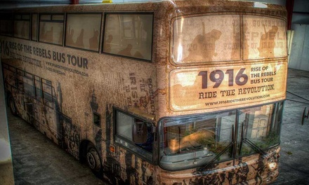 1916 Rise of The Rebels Bus Tour for One or Two with Hidden Dublin Walks (Up to 40% Off)