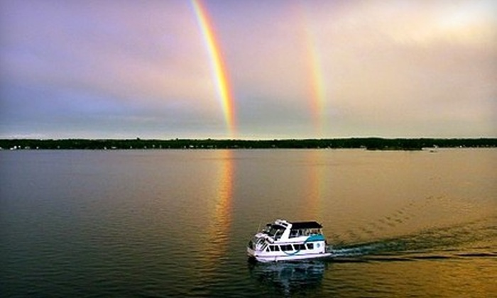 1000 Islands & Seaway Cruises - Jewels of the St. Lawrence Cruise at 1000 Islands & Seaway Cruises: 90-Minute Jewels of the St. Lawrence Cruise for One or Two from 1000 Islands & Seaway Cruises (Up to 51% Off)