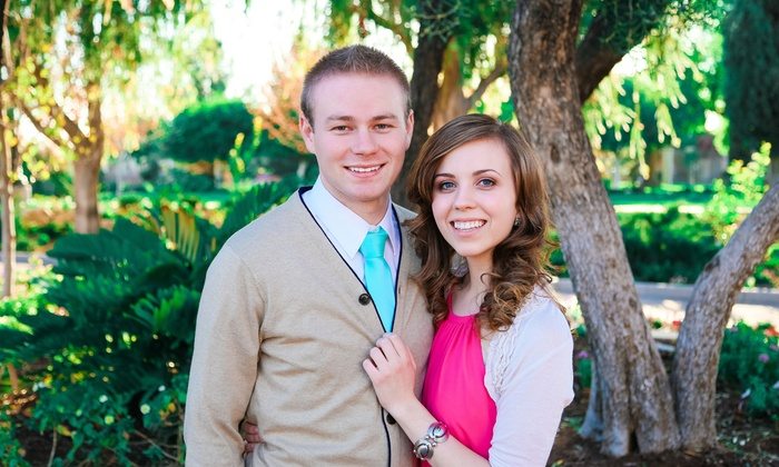 Vose Photography - Provo: $799 for a Wedding-and-Engagement Package from Vose Photography ($1,600 Value)