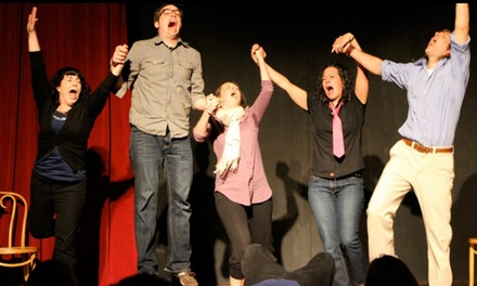 Improv and Popcorn for Two at Curious Comedy Theater Through June 27 (Up to 39% Off)