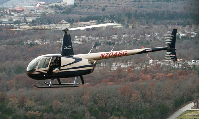 Chopper Charter Branson - Hollister: $299 for an Ipilot Helicopter-Flying Experience for Up to Two at Chopper Charter Branson ($695 Value)