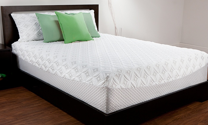 sealy 12 memory foam mattress groupon goods. Black Bedroom Furniture Sets. Home Design Ideas