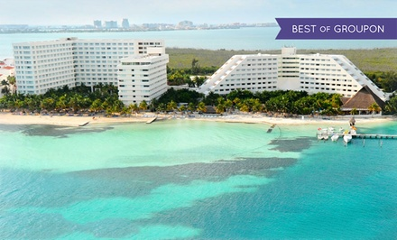 All-Inclusive Stay at Grand Oasis Palm Resort in Cancún, with Dates into December. Includes Taxes and Fees.