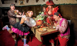 Treasure Tavern: Dinner Show for One, Two, or Four at Treasure Tavern (Up to 44% Off)