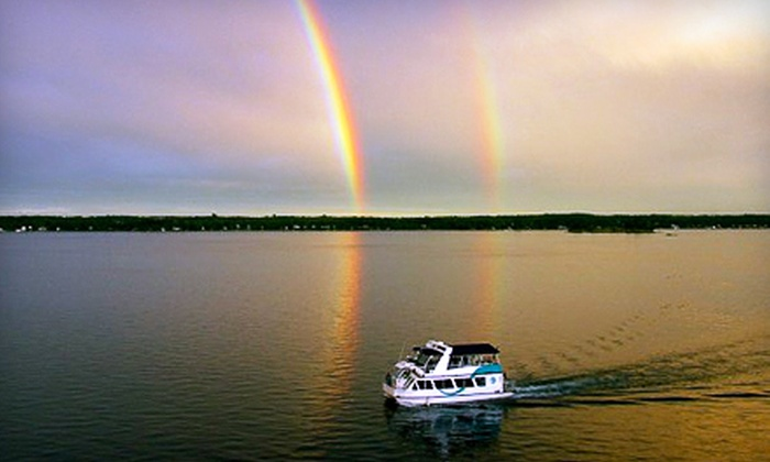 1000 Islands & Seaway Cruises - Jewels of the St. Lawrence Cruise at 1000 Islands & Seaway Cruises: 90-Minute Shoreline and Seaway Cruise for One or Two from 1000 Islands & Seaway Cruises in Brockville (Half Off)