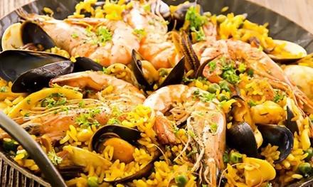 ⏰ Menu con tapa, paella e sangria a 36,90€euro