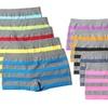 10-Pack of Seamless Striped Boyshorts