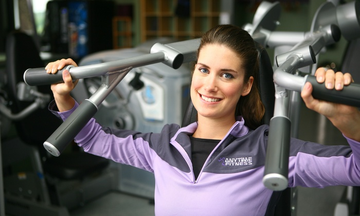 Anytime Fitness - Concord - Heritage Square: $25 for a One-Month Gym Membership at Anytime Fitness ($65 Value)