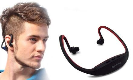 Auriculares deportivos con reproductor MP3 integrado y Radio FM por 9,99 € (67% de descuento)