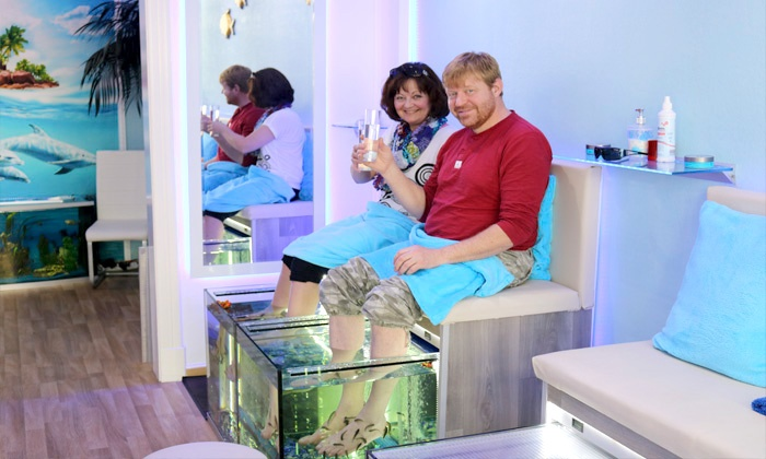 echtes fische spa bis zu 40 l beck sh groupon. Black Bedroom Furniture Sets. Home Design Ideas