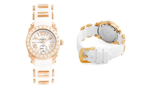 Orologio da donna con diamanti Swissport by Aquaswiss. Vari colori disponibili