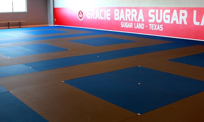 Gracie Barra Sugar Land Brazilian Jiu Jitsu - The Market At First Colony: $130 for $260 Groupon — Gracie Barra Sugar Land Brazilian Jiu Jitsu