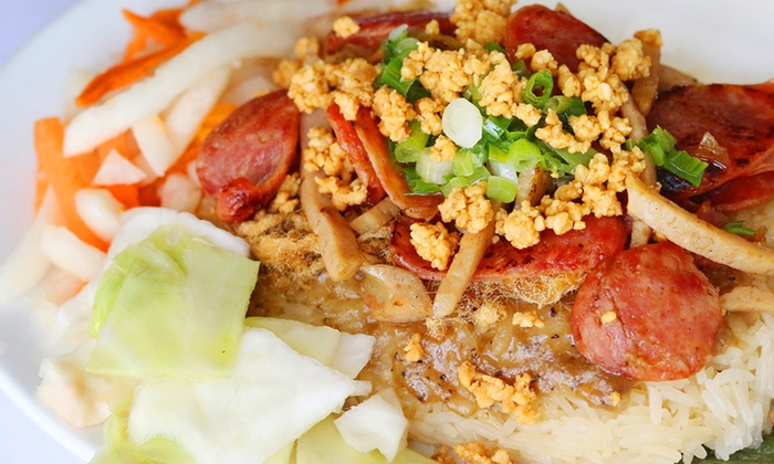 VKitchen - Bryant Pattengill West: Vietnamese Food and Drinks for Two or Four at VKitchen (Up to 46% Off)