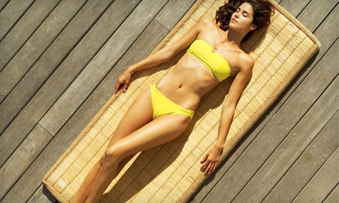 Tanzmania Tanning - Multiple Locations: Three Level II or High-Pressure Tanning-Bed Sessions or Two Mystic Tan Sessions at Tanzmania Tanning (Up to 70% Off)