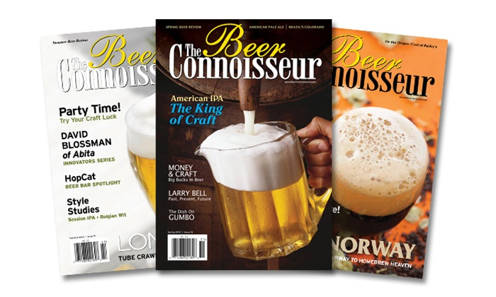 The Beer Connoisseur: One-Year or Two-Year Subscription with Online Membership to The Beer Connoisseur Magazine (Up to 52% Off)