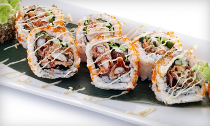 Drunken Fish Sushi Lounge - Maspeth: Sushi Meal for Two or Four at Drunken Fish Sushi Lounge (Up to 56% Off)