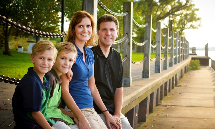 Laura Fickett Studios - Little Rock: $69 for 45-Minute On-Location Family Photo Shoot for Up to Six from Laura Fickett Studios ($195 Value)
