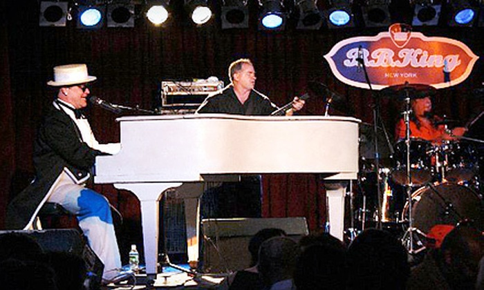 "B.B. King Blues Club & Grill - B.B. King Blues Club & Grill: Elton John, Billy Joel, or Bruce Springsteen Tribute Shows, or Jerry ""Iceman"" Butler Concert at B.B. King Blues Club & Grill (Up to 51% Off). Four Shows Available."