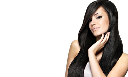 Haircut Package with Optional Color or Partial Highlights from Maegan Esposito at Salon Genesi (Up to 67% Off)