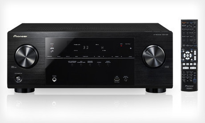 Pioneer 5.1-Channel A/V Receiver: Pioneer 5.1-Channel VSX-522 or VSX-822 Home Theater Receivers (Up to 27% Off). Free Shipping.