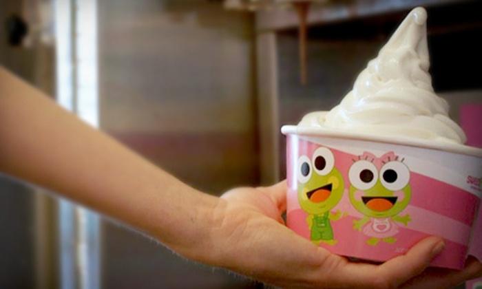 Sweet Frog Premium Frozen Yogurt - Highlands/Perkins: $5 for $10 Worth of Frozen Yogurt at Sweet Frog Premium Frozen Yogurt