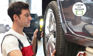 Bosch Car Service - Santa Amélia: Bosch Car Service – Santa Amélia: alinhamento, balanceamento e revisão (opção de troca de óleo, rastreamento e mais)