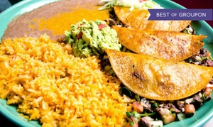 La Palmera: $15 for $30 Worth of Mexican Food at La Palmera