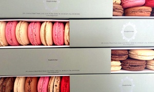 Knightsbridge Cafe: Box of Macaroons or London Cake starting from AED 35 at The Knightsbridge Cafe, Jumeirah Beach Road