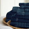Embroidered Finest Combed Cotton Towel Set (12-Piece)