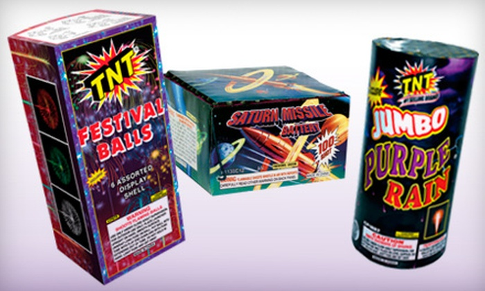 TNT Fireworks - Dania Beach: $20 for $45 Worth of Fireworks at TNT Fireworks
