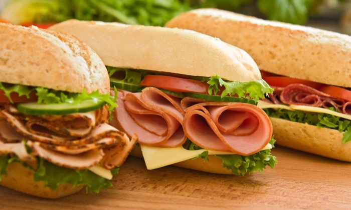 Subway - Northlake: $13 for Four Groupons, Each Good for $5 Toward Sandwiches, Sides, and Drinks at Subway ($20 Value)