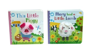 This Little Piggy and Mary Had a Little Lamb Kids' Book Bundle