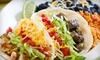 Sharky's Woodfired Mexican Grill - South Lake: Mexican Food and Drinks or Catering and Party Platters at Sharky's Woodfired Mexican Grill (Half Off)