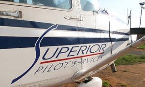 Superior Pilots Services: Introductory Flight and Facility Tour for One for R1 699 with Superior Pilot Services