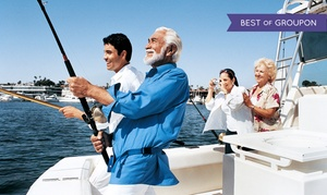 Sand Dollar Charters: Full-Day Boat Rental from Sand Dollar Charters (Up to 40% Off). Four Options Available.