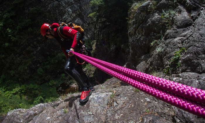 Eagle Rock Adventures - Multiple Locations: Blue Mountains Abseiling ($79), Canyon Adventure ($109) or Both ($169) with Eagle Rock Adventures (Up to $340 Value)