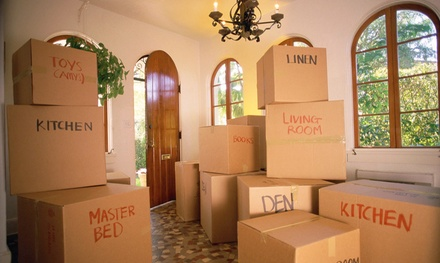 2 or 3 Hours of Professional Moving Labor Services from Iowa Moving 1 (Up to 53% Off)