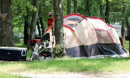 Two- or Three-Night Campsite with Firewood and Ice at Kymer's Camping Resort (Up to 53% Off)