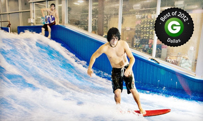 AquaShop - Plano: $20 for Two 30-Minute Indoor Surf-Wave-Machine Sessions at AquaShop ($40 Value)