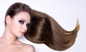 Mario Hair Design: Keratin Treatment with Optional Style or Haircut at Mario Hair Design (Up to 50% Off)