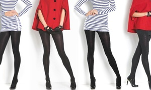 Women's Fleece-Lined Warm Breathable Tights (4-Pack)