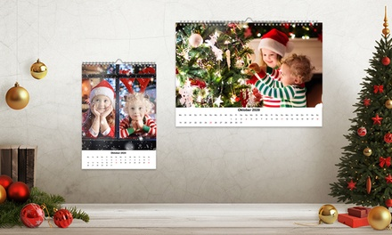 1, 2 o 3 Foto-Calendario formato A4 o A3 en Photo Gifts (hasta 81% de descuento)