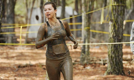 Regular Obstacle-Race Entry for One or Two or 10K Competitive-Heat Entry for One to MudManX (Up to 64% Off)