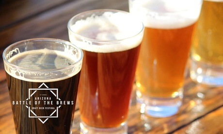 Admission for Two or Four at the Arizona Battle of the Brew Craft Beer Tasting - October 7, 2017 (Up to 44% Off) d6a4dd56-68f9-420f-8ba7-2872317f1eaa