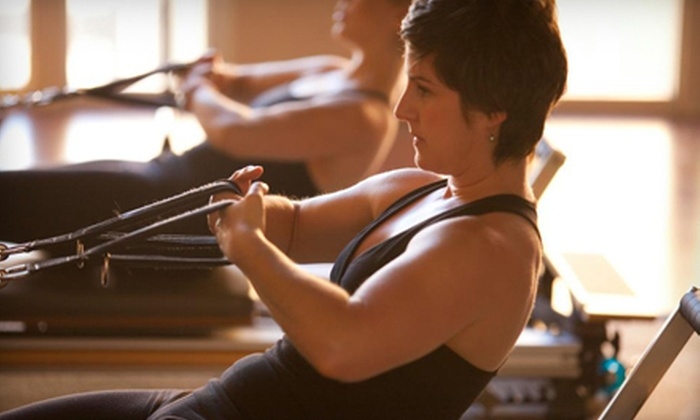 The Studio by Bridget - Marina Pacifica: 5 or 10 Group Fitness Classes or Group Reformer Pilates Classes at The Studio by Bridget (Up to 72% Off)