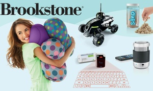 $25 For $50 Worth Of Unique Holiday Gifts And Other Innovative Products From Brookstone. Valid Online And In-store.